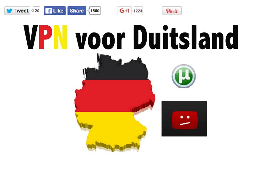 VPN voor Duitsland
