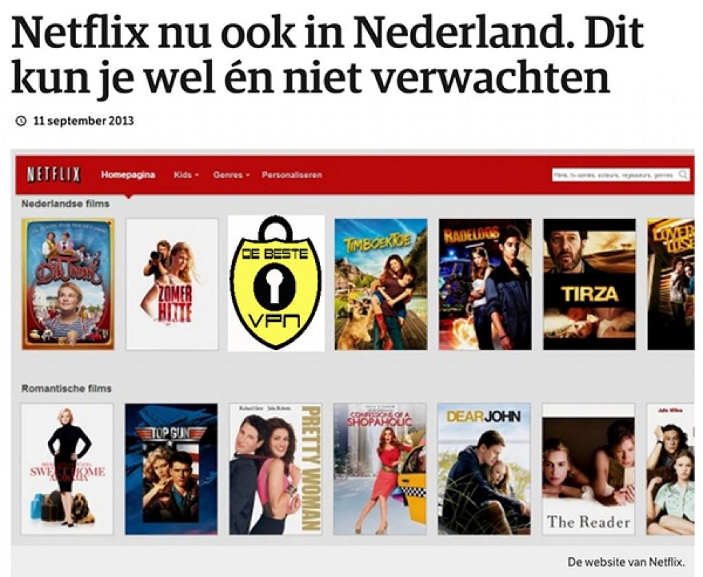 Netflix aanbod