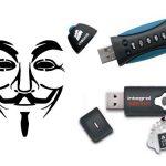 Encrypted USB-flashdrive