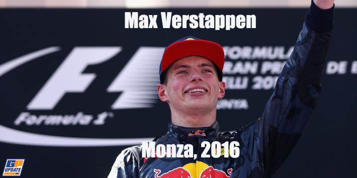 Max Verstappen in Monza