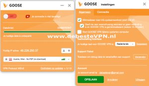GooseVPN made in Holland