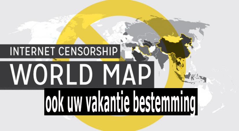 Welke vakantielanden passen censuur toe