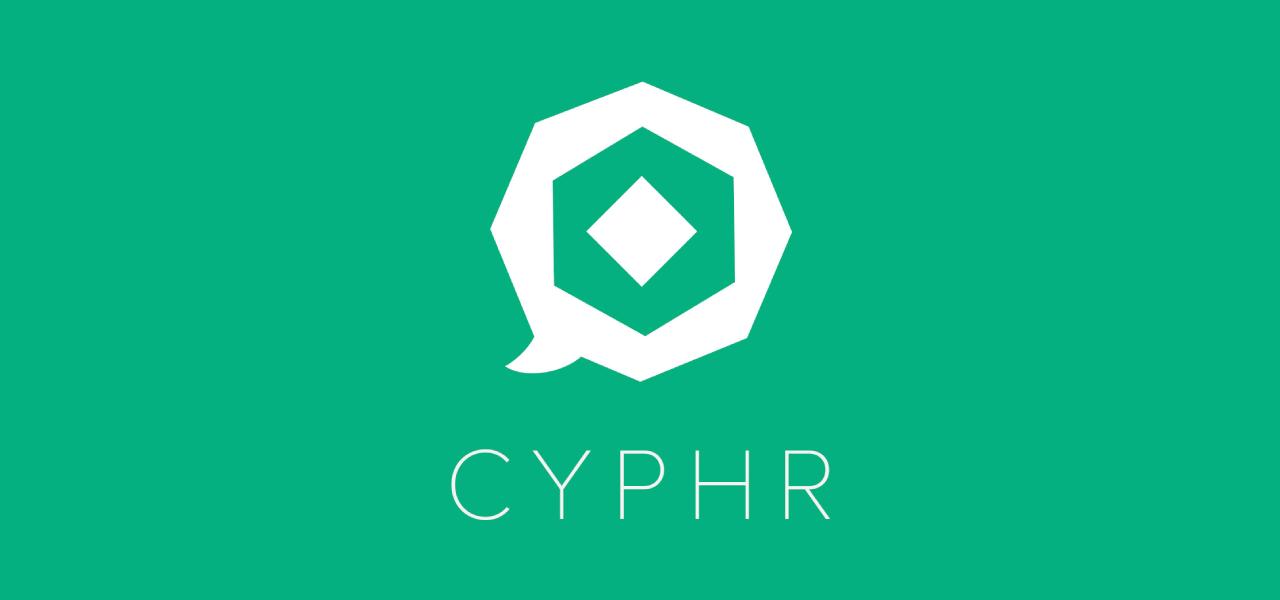 Cyphr de beveiligde chat applicatie