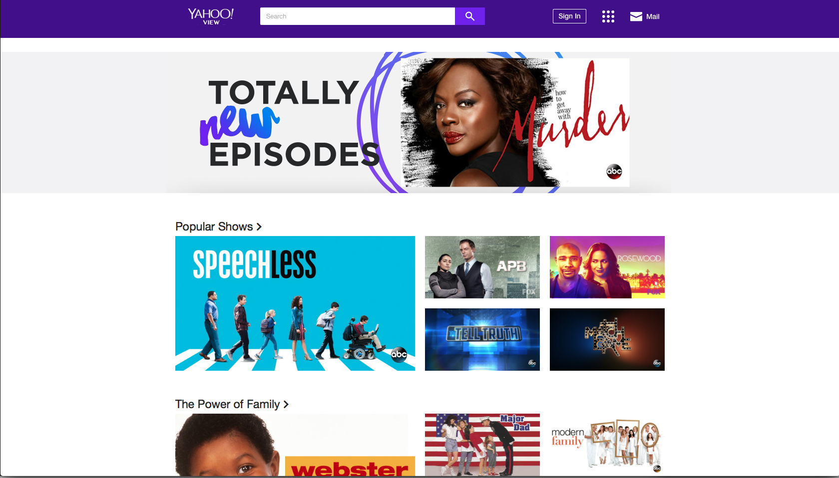 Yahoo films streaming