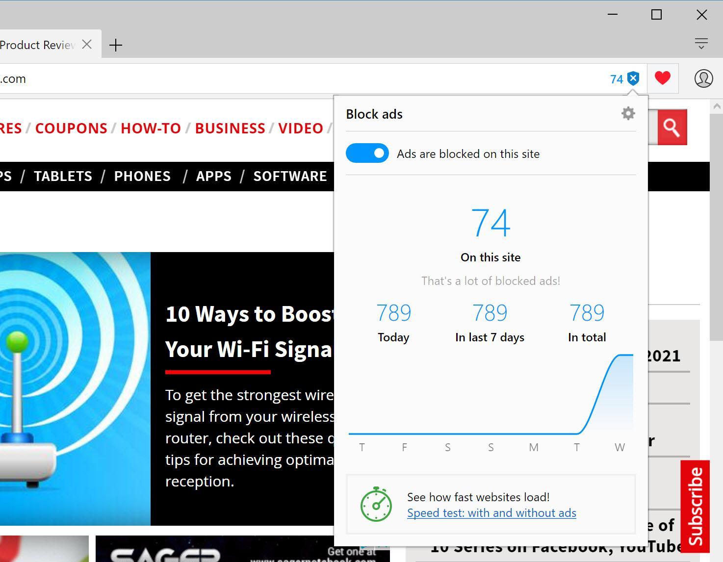 Opera Browser met VPN
