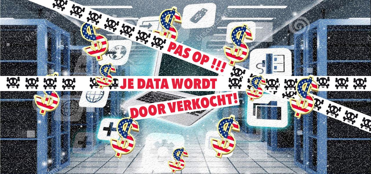 Internet provider mag gebruikersdata verkopen