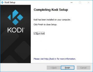 kodi vpn instellenvia installatie scherm