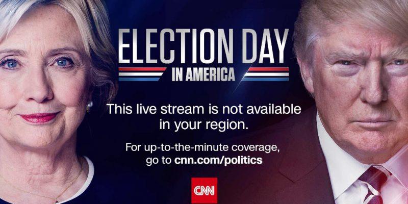 Trump en Clinton | Live verkiezingen volgen met een VPN
