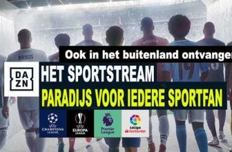 DAZN tv live | De Netflix voor de sport, hier vele sportuitzendingen