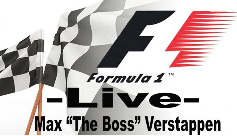 Formule 1 live stream | Max Verstappen via VPN