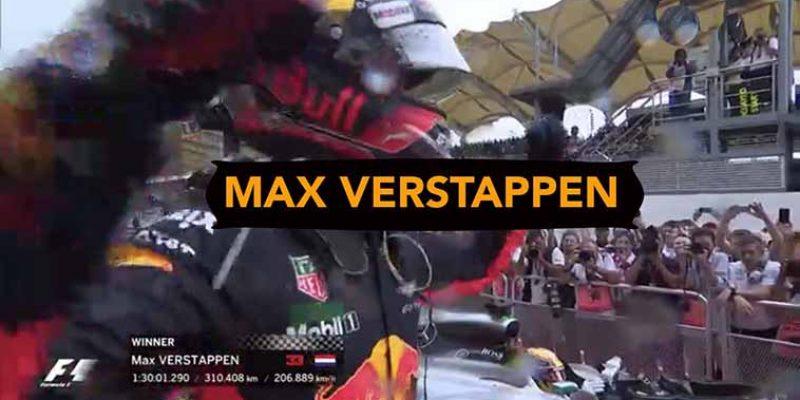Formule 1 livestream | Max Verstappen live 2018-2019