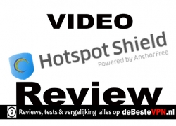 Hotspot Shield Video Test  | Basis gebruik video