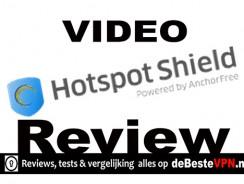 Hotspot Shield Video Test  | Basis gebruik video