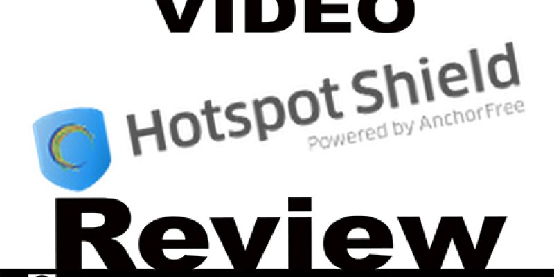 Hotspot Shield Video Test    Basis gebruik video