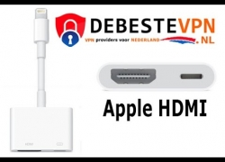 Apple iPhone HDMI connector | TV kijken via je iphone op je hotel TV