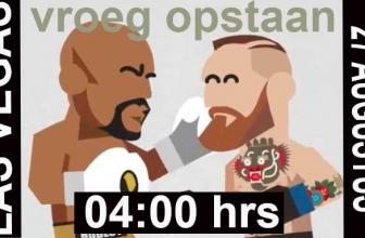Mayweather vs McGregor online live stream | Niets missen met een VPN