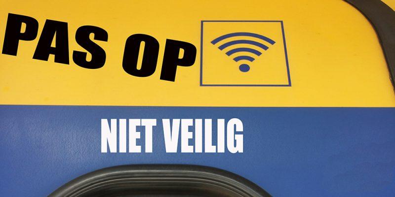 Onveilig Wifi in NS treinen  | Met VPN ben je veilig