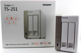 QNAP TS-251  | Super krachtige processor, dual removable hard disk, uit te breiden RAM