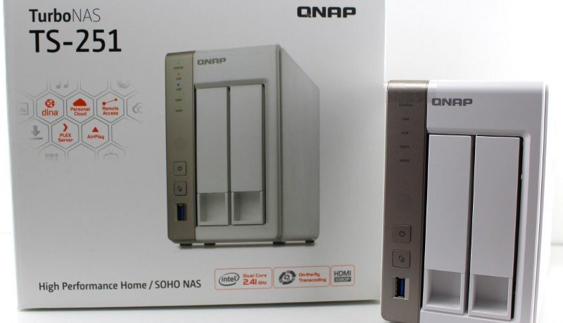 QNAP TS-251  | Super krachtige processor, dual removable hard disk, uit te breiden RAM