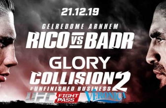 Glory Kickboxing livestream bij Veronica TV